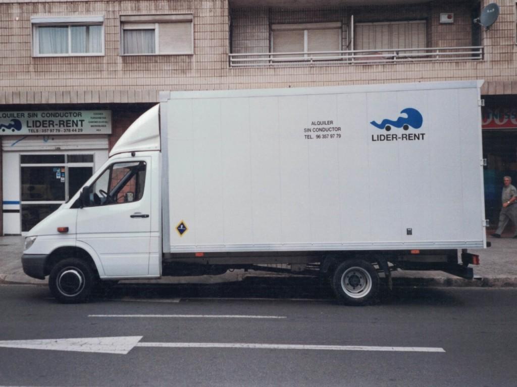 furgonetas camion grande