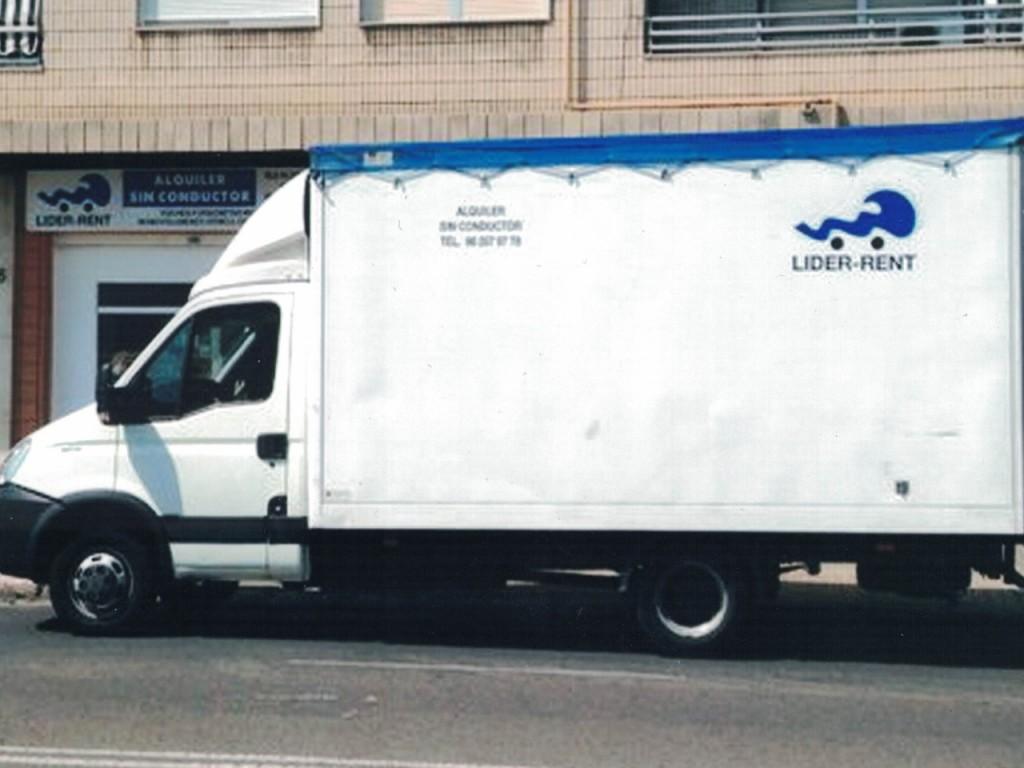 Furgonetas tipo camión