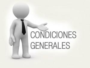 Condiciones generales para alquiler furgonetas Valencia