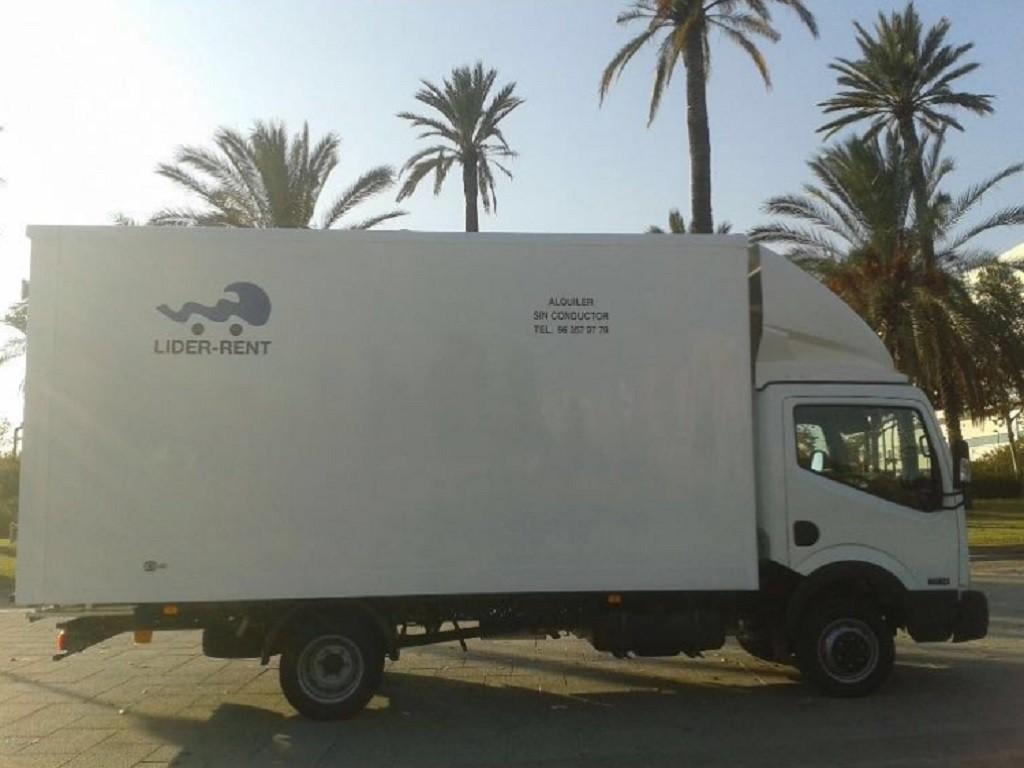 Alquiler de furgonetas