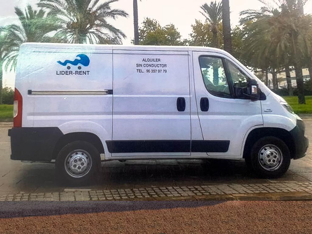 alquiler furgonetas en valencia